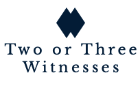 Logo - Two or Three Witnesses